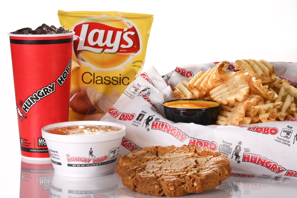 <p> 	Don&#39;t forget our famous combo pack options like made to order waffle fries, cheddar fries, chips, soup or a fresh cookie&nbsp;</p>